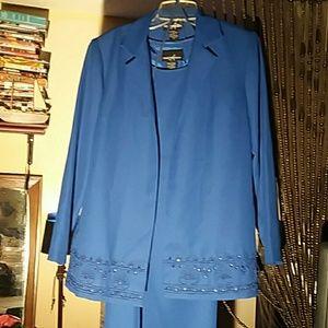 dress with beaded jacket